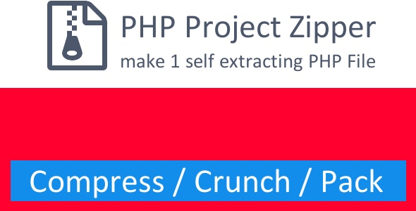 PHP Project Zipper - CodeCanyon Item for Sale