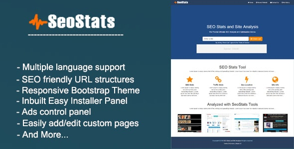 SEO Stats - CodeCanyon Item for Sale