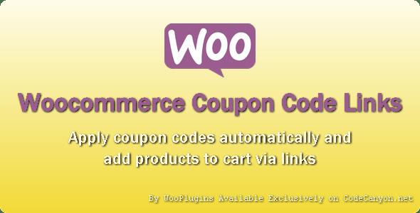 WooPlugins - Woocommerce Coupon Code Links