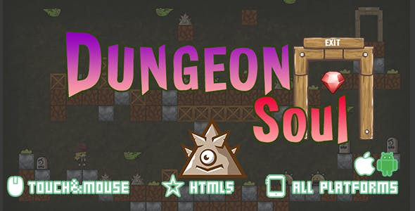 Dungeon Soul-html5 mobile game(capx)