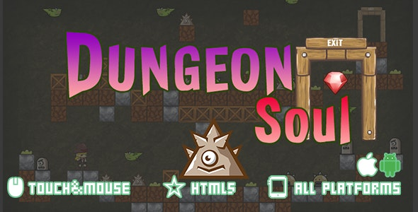Dungeon Soul-html5 mobile game(capx) - CodeCanyon Item for Sale