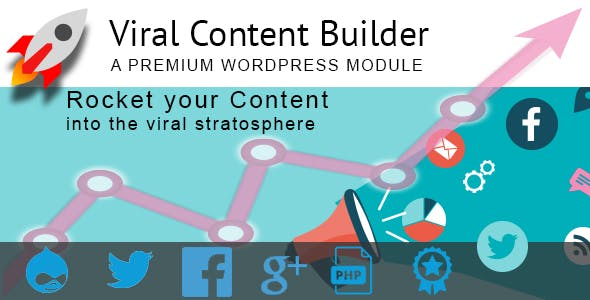 Social Media Viral Content Builder for Drupal