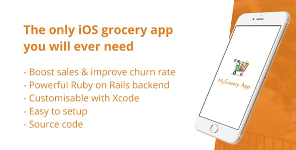 MyGrocery App - Your iOS Grocery App with Backend