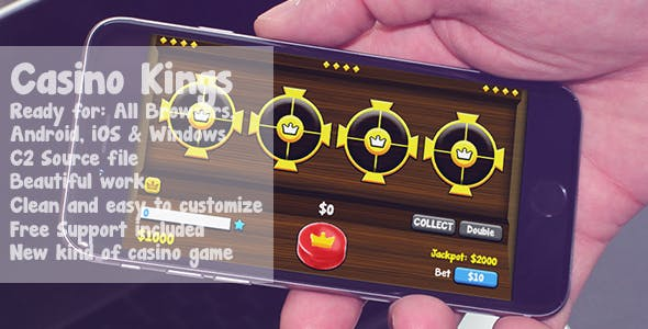 Casino Kings - New kind of casino game