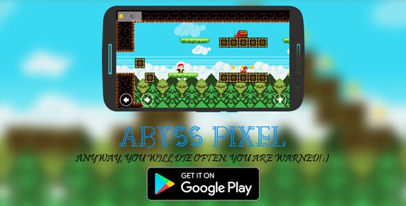 Pixel Abyss platformer+Admob