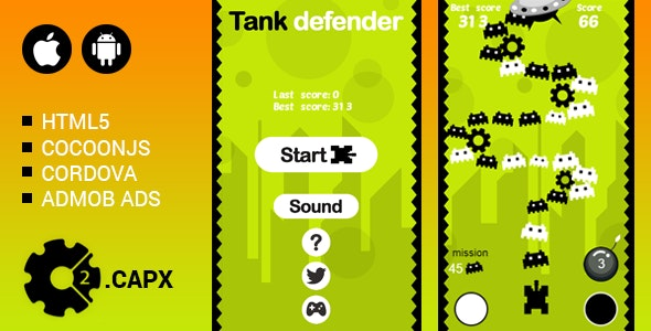 Tank Defender - CodeCanyon Item for Sale