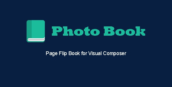 Photo Book - Page Flip Book for Visual Composer - CodeCanyon Item for Sale