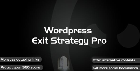 Wordpress Exit Strategy Pro