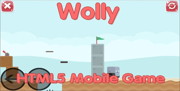 Wolly - HTML5 Mobile Game - CodeCanyon Item for Sale