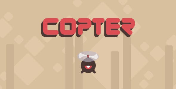 Copter - Html5 Mobile Game - android & ios