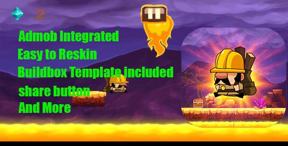 Volcano Runner + Admob Runner and interstial