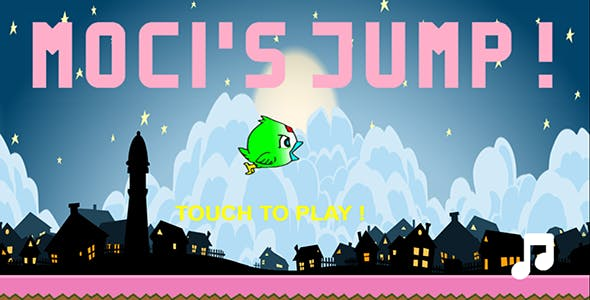 Moci's Jump ! HTML5, Construct 5 + Admob Game