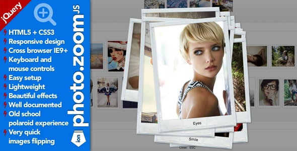 Ion.PhotoZoom. jQuery Lightbox Plugin - CodeCanyon Item for Sale