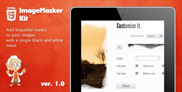 ImageMasker Kit - CodeCanyon Item for Sale