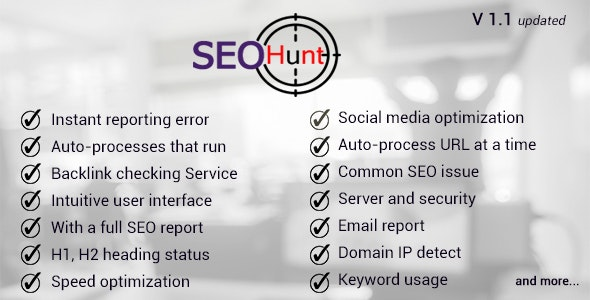 seo hunt - CodeCanyon Item for Sale