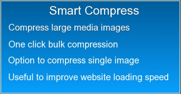 Smart Image Compressor - CodeCanyon Item for Sale