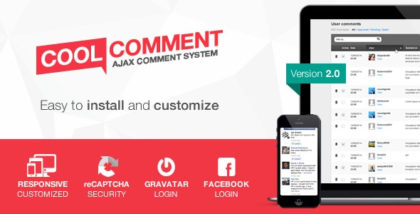 Cool comments ajax system - CodeCanyon Item for Sale
