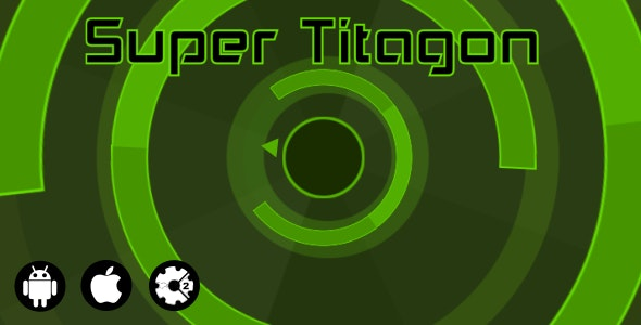Super Titagon - HTML5 Game + Admob - CodeCanyon Item for Sale