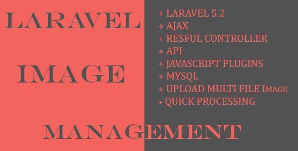 Laravel image management