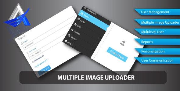 Multiple Image Uploader - CodeCanyon Item for Sale