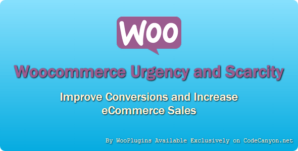 WooPlugins - Woocommerce Urgency and Scarcity