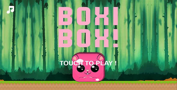 Boxi Box ! HTML 5, Construct 2 + Admob Game