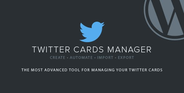 Twitter Cards Manager