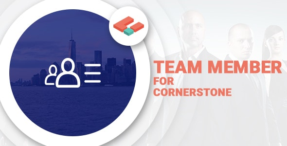 Team Members for Cornerstone - CodeCanyon Item for Sale