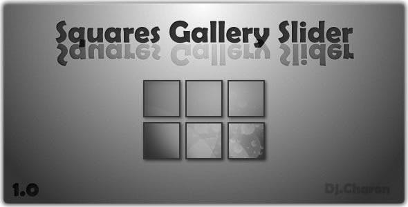 Squares Gallery Slider