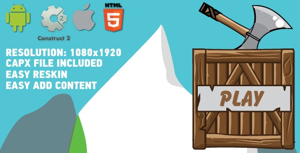 Ruin tower - HTML5 Android (CAPX)  - CodeCanyon Item for Sale