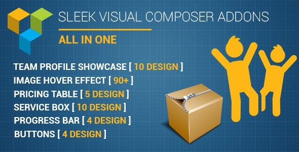 Sleek Visual Composer Addons - CodeCanyon Item for Sale