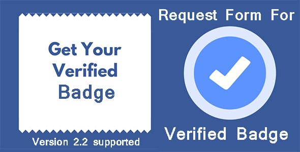 Get Verified Request Form for SocialKit  - CodeCanyon Item for Sale
