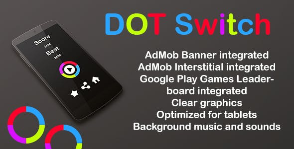 Dot Switch + Admos Ads + leaderbords