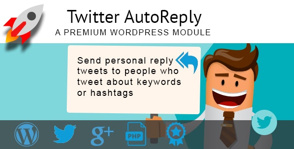 Twitter Autoreply - CodeCanyon Item for Sale