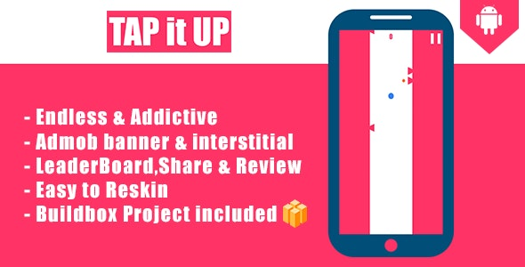 Tap It Up - Android Eclipse & Buildbox Game Template - CodeCanyon Item for Sale