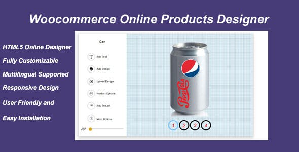 Woocommerce Online Products Designer