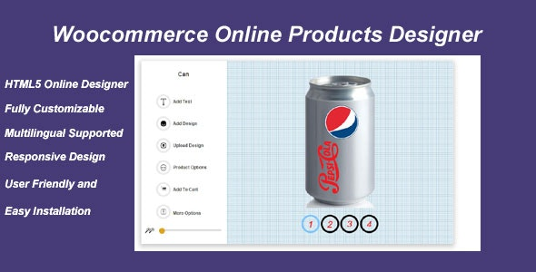 Woocommerce Online Products Designer - CodeCanyon Item for Sale