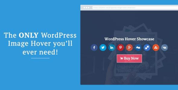 WordPress Image Hover Showcase - CodeCanyon Item for Sale