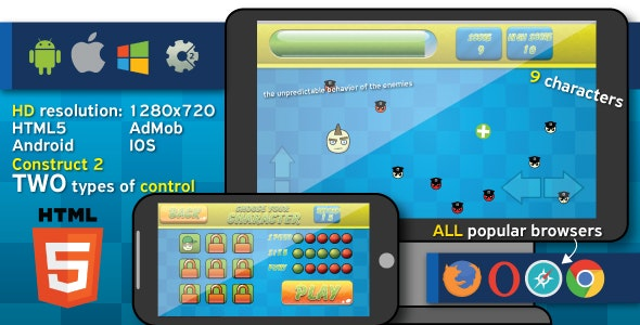 Hit and Run - HTML5 game (capx) - CodeCanyon Item for Sale
