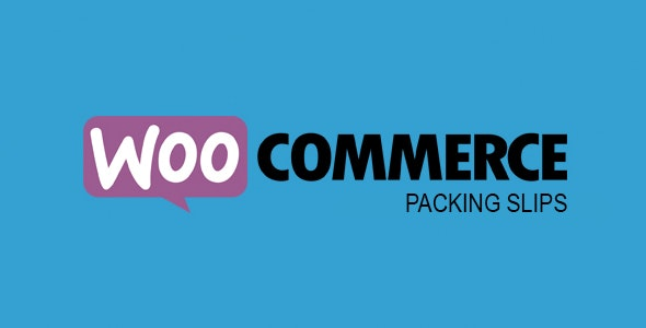 WooCommerce Packing Slips - CodeCanyon Item for Sale
