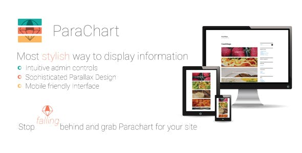 Parachart - Responsive Parallax Post Link/Content Display