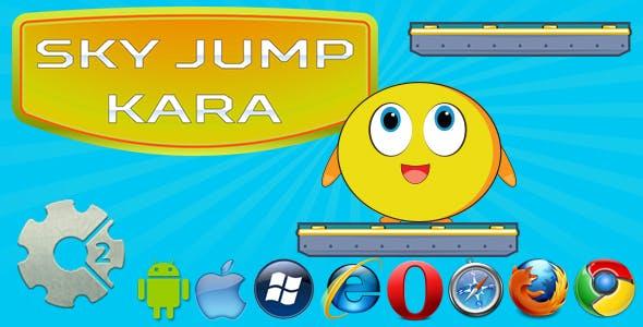 Kara - Sky Jump HTML5 Game
