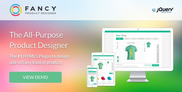 Fancy Product Designer | jQuery        Nulled