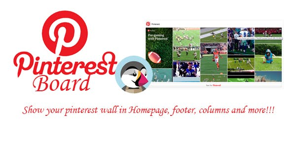 Prestashop Pinterest Board