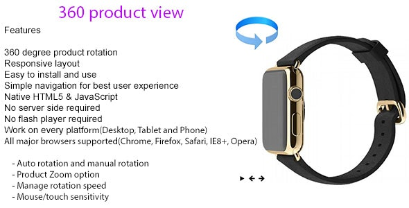 360 Product View for e-Commerce Website by nikunjpagada
