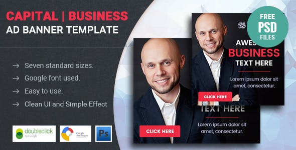 Capital | Business HTML 5 Animated Google Banner