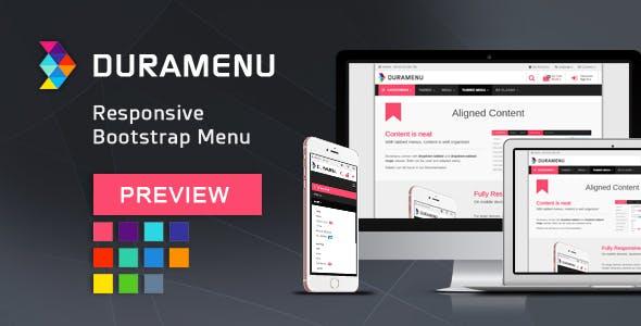 Duramenu | Responsive Bootstrap Menu