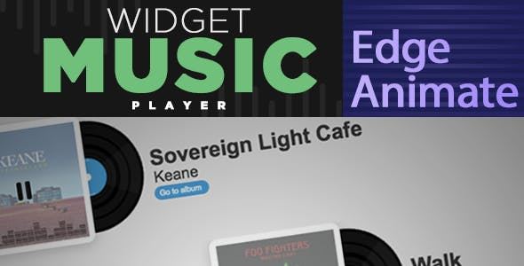 Widget Music Player