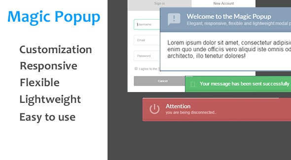 Visual Composer - Magic Popup - CodeCanyon Item for Sale