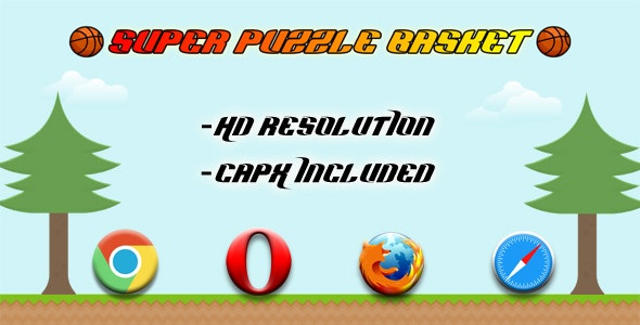 Super Puzzle Basket - HTML5 game(CAPX) - CodeCanyon Item for Sale